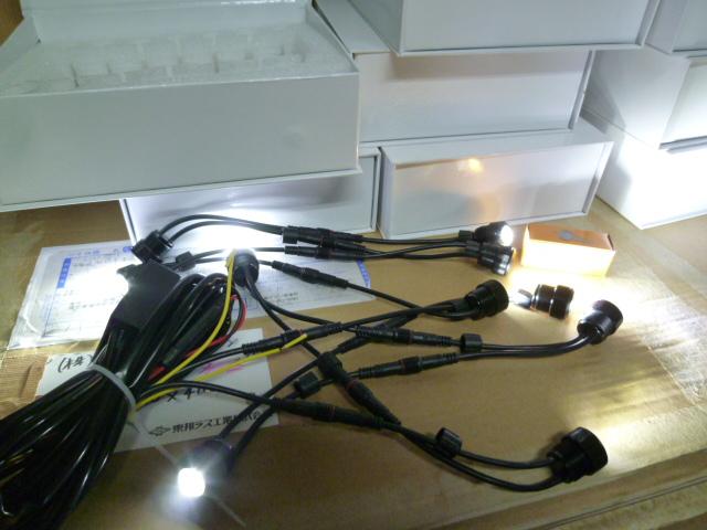 LEDデイライト(10灯式)点灯確認